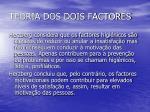 teoria dos dois factores54