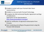 getting authorized as a promark gsa reseller