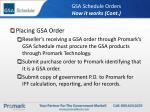 gsa schedule orders how it works cont10