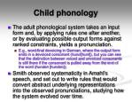 child phonology9