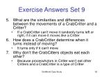 exercise answers set 952