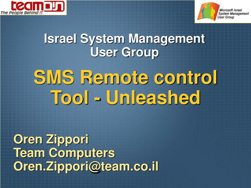 sms remote control tool unleashed l.