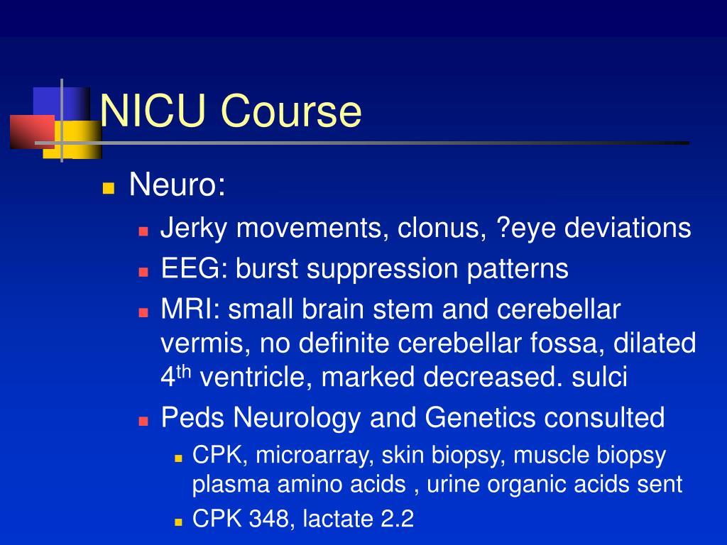 NICU Course