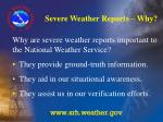 severe weather reports why5