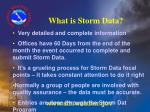 what is storm data32