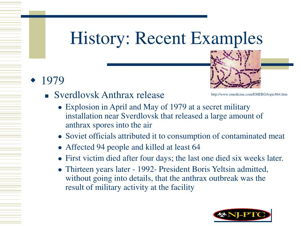 History: Recent Examples