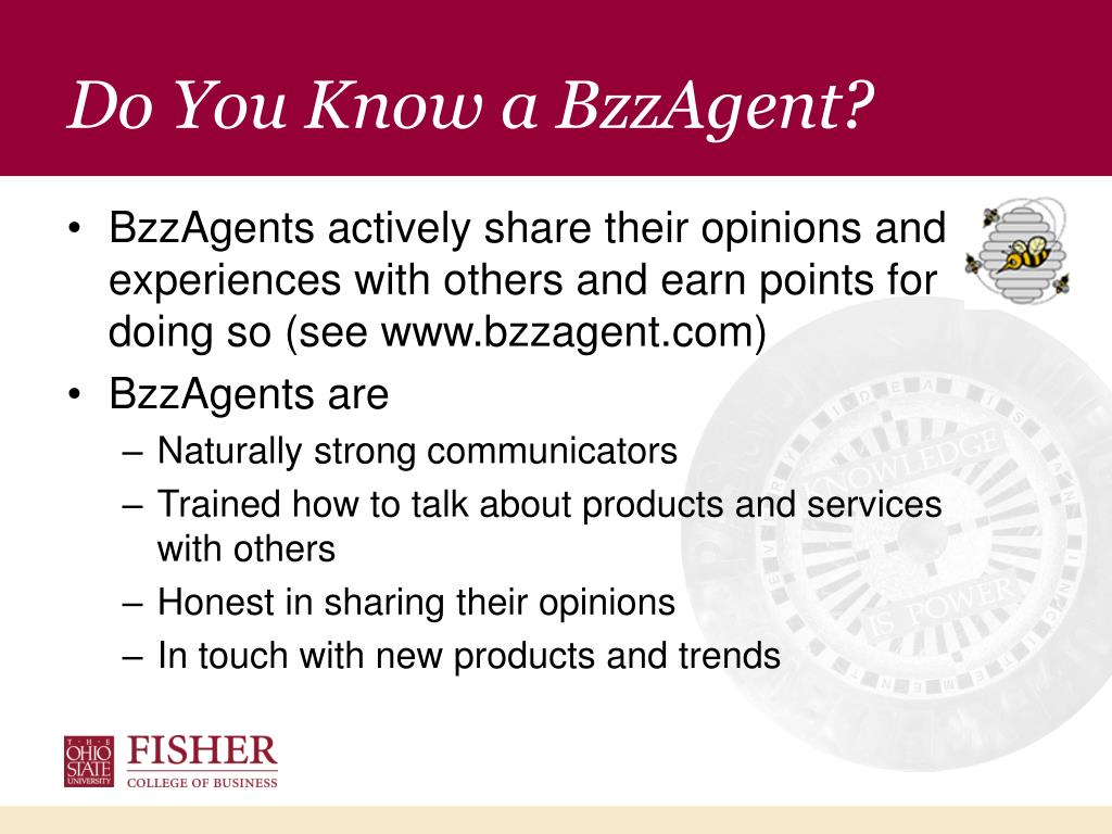 Do You Know a BzzAgent?