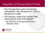 snapshot of demographic trends7