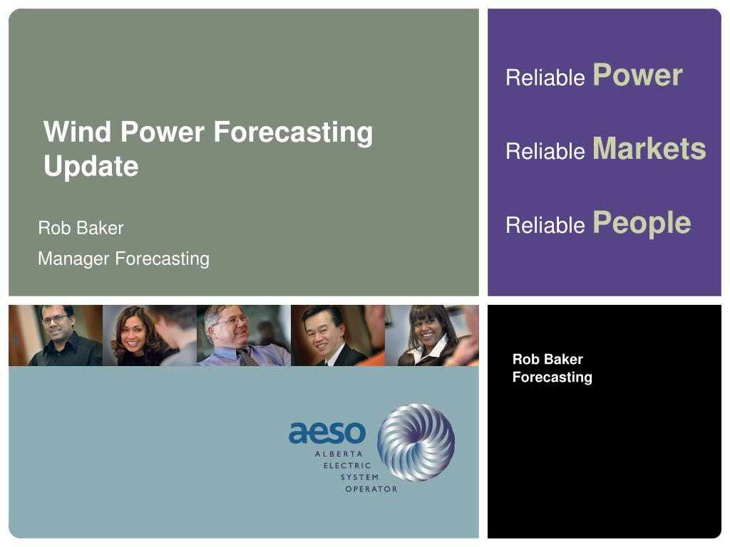 Wind Power Forecasting Update