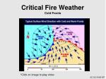 critical fire weather cold fronts