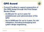 gpo award
