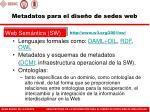 metadatos para el dise o de sedes web7