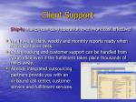 client support17
