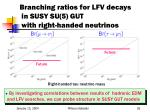 branching ratios for lfv decays in susy su 5 gut with right handed neutrinos