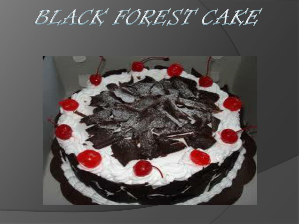 black forest cake l.