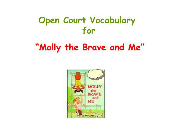 open court vocabulary for n.
