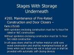 stages with storage underneath196