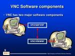 vnc software components
