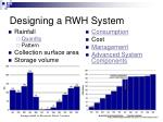 designing a rwh system