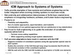 icm approach to systems of systems
