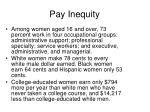 pay inequity