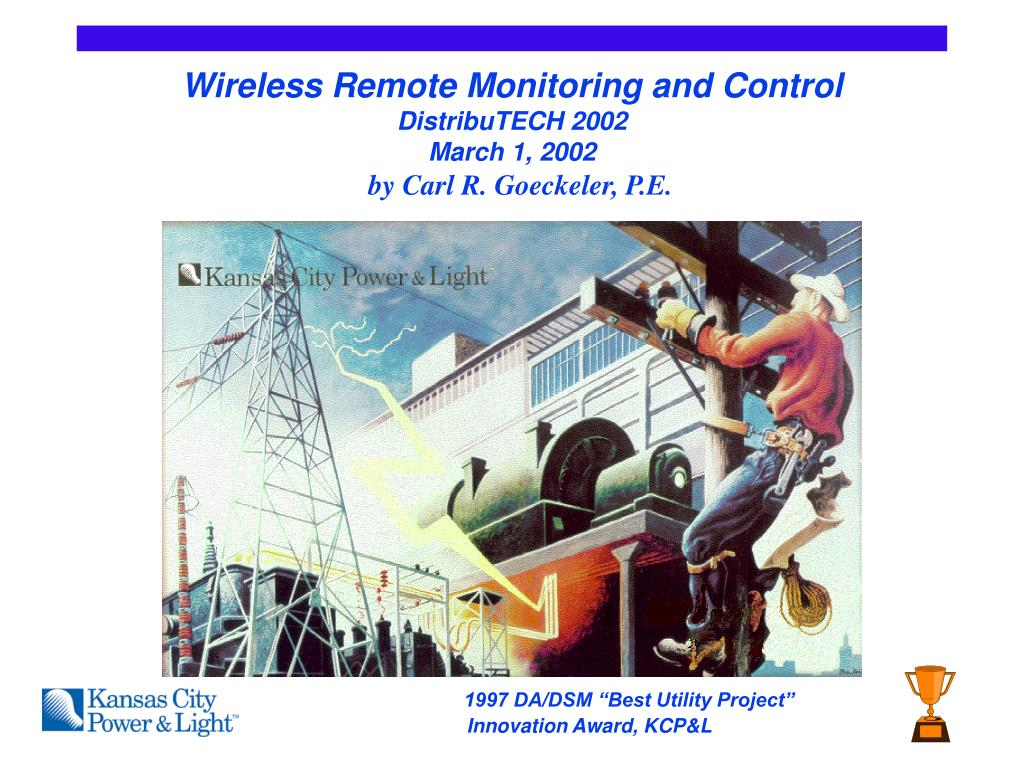 wireless remote monitoring and control distributech 2002 march 1 2002 l.
