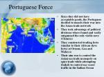 portuguese force