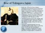 rise of tokugawa japan