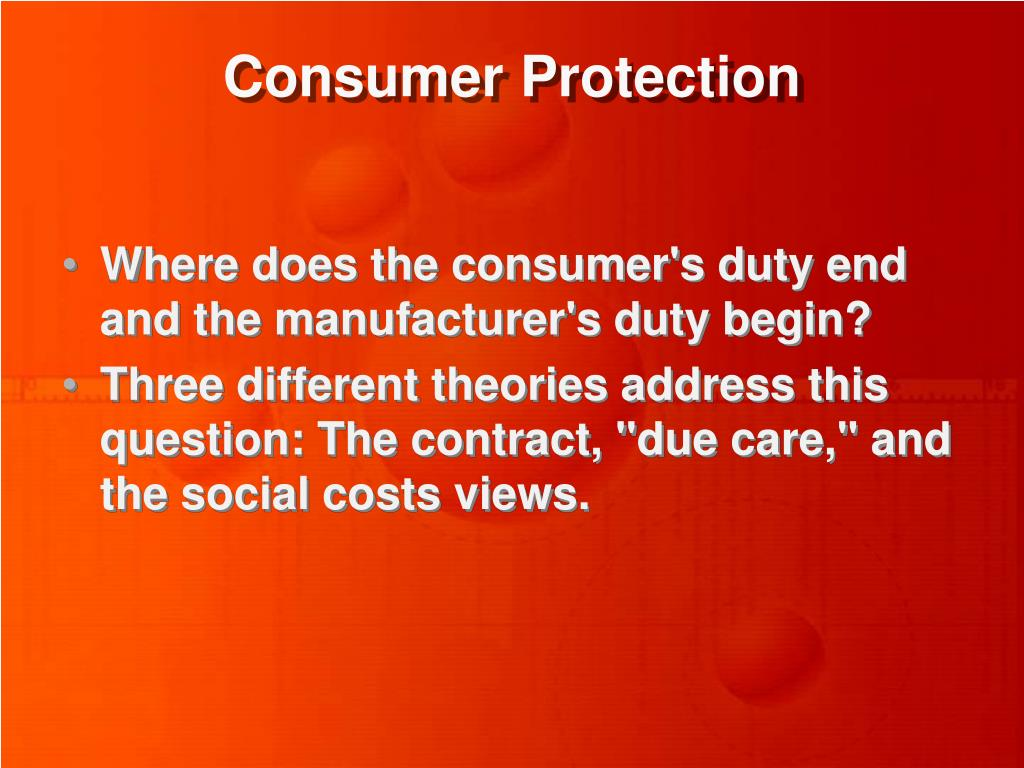consumer protection l.