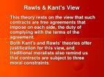 rawls kant s view