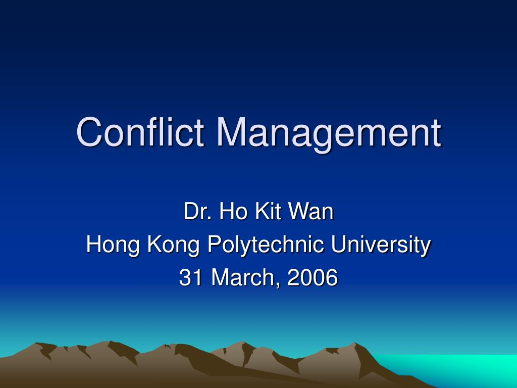 conflict is natural and inevitable The view that conflict is a natural and inevitable outcome in any group and need not be negative but has the potential to be a positive force in contributing to a group's performance interactionist view of conflict.