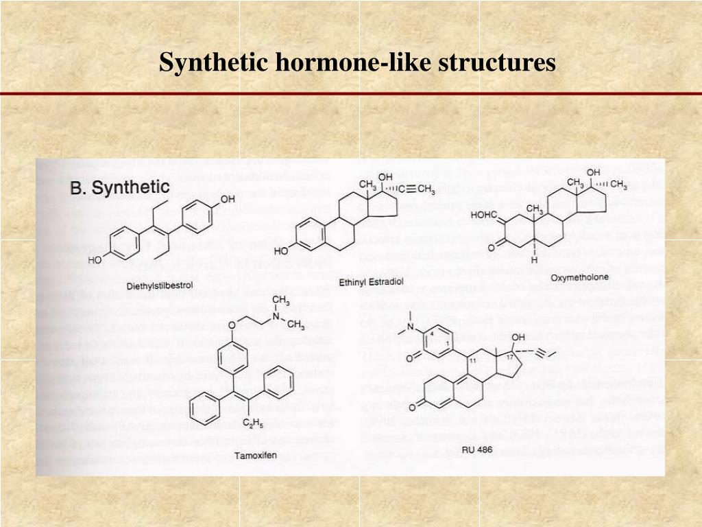 Synthetic hormone-like structures