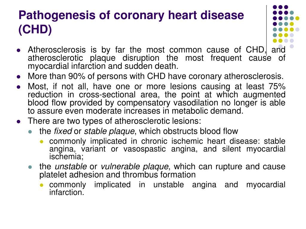 Pathogenesis of
