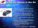 using the mouse in the air page 1 of 1