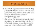 symbolic action82