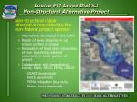 louisa 11 levee district non structural alternative project