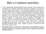 bohr e il realismo scientifico