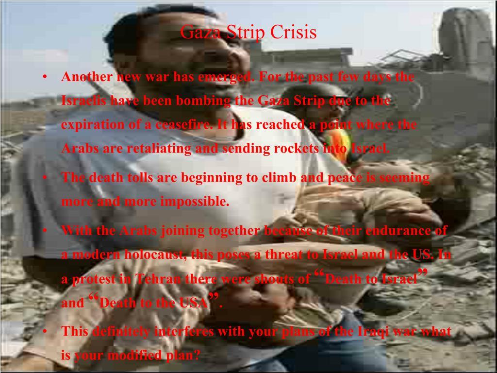 Gaza Strip Crisis