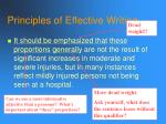 principles of effective writing83