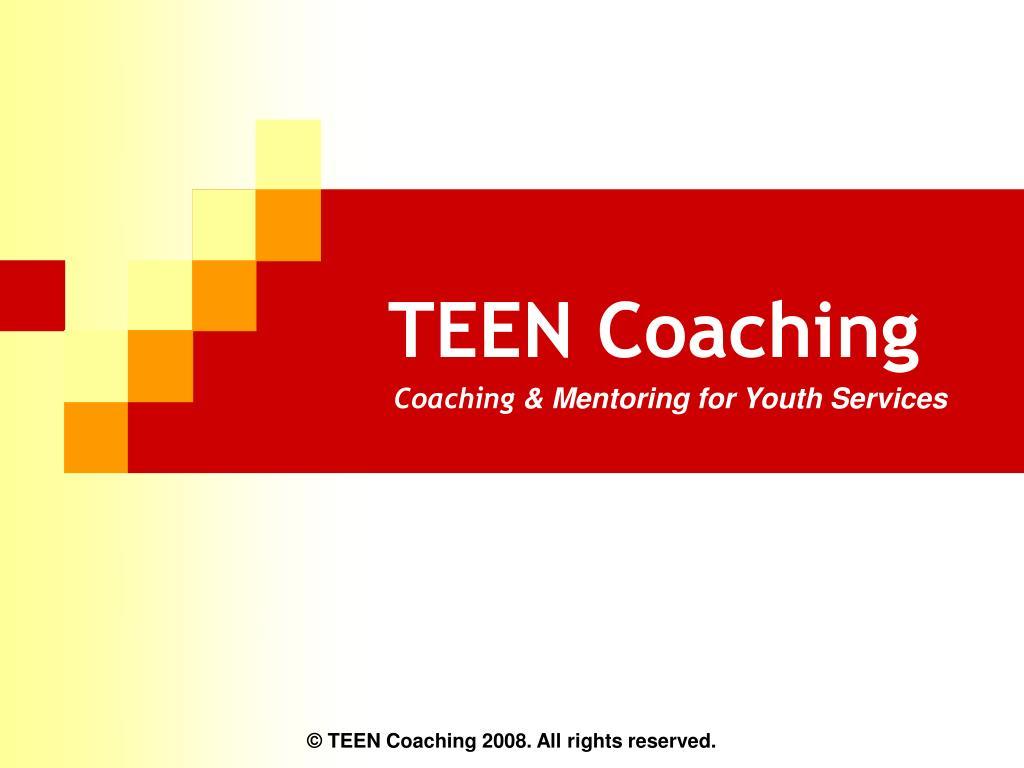 teen coaching l.