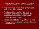 authentication and security23