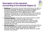 description of the industrial surrounding of the donetsk region 3
