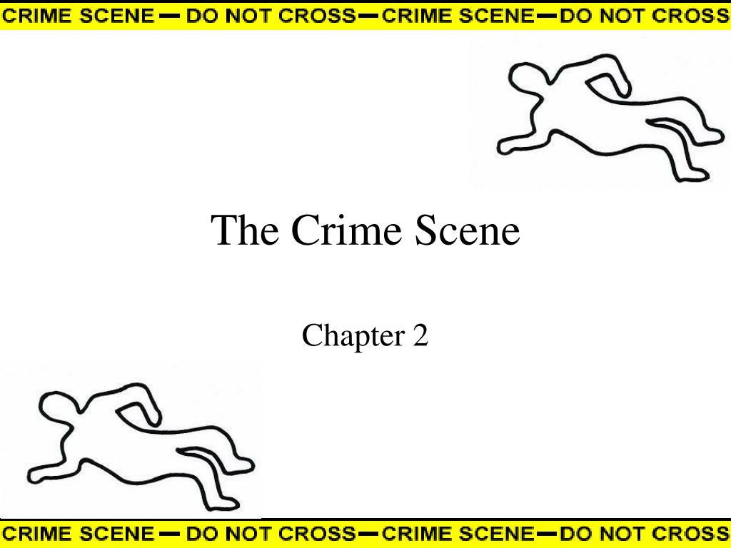the crime scene l.