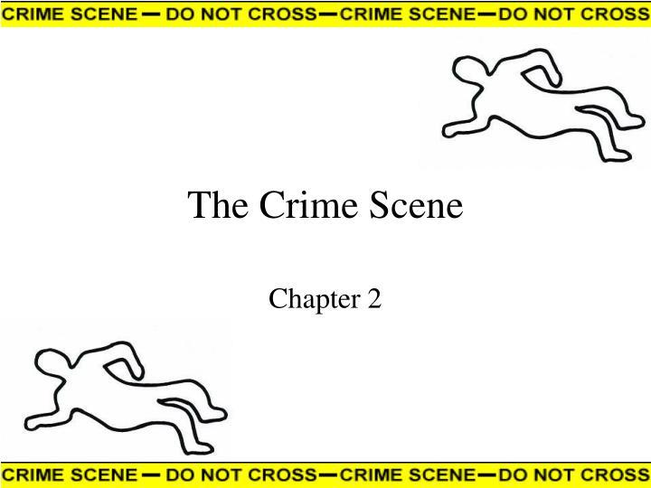 the crime scene n.