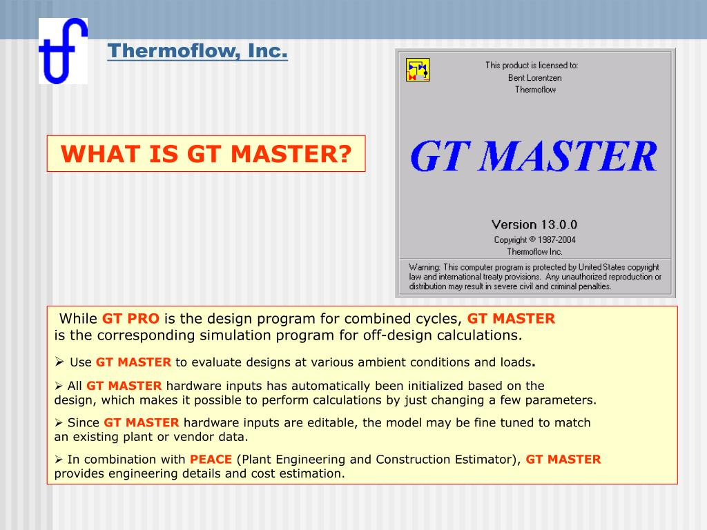 what is gt master l.