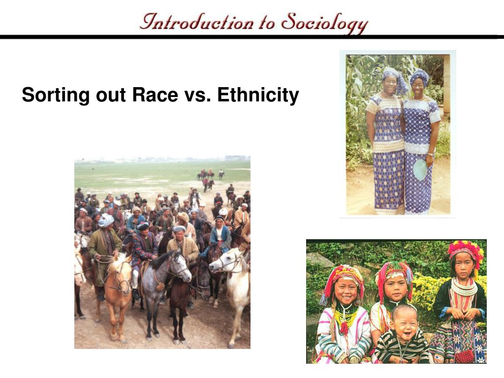 Sorting out Race vs. Ethnicity