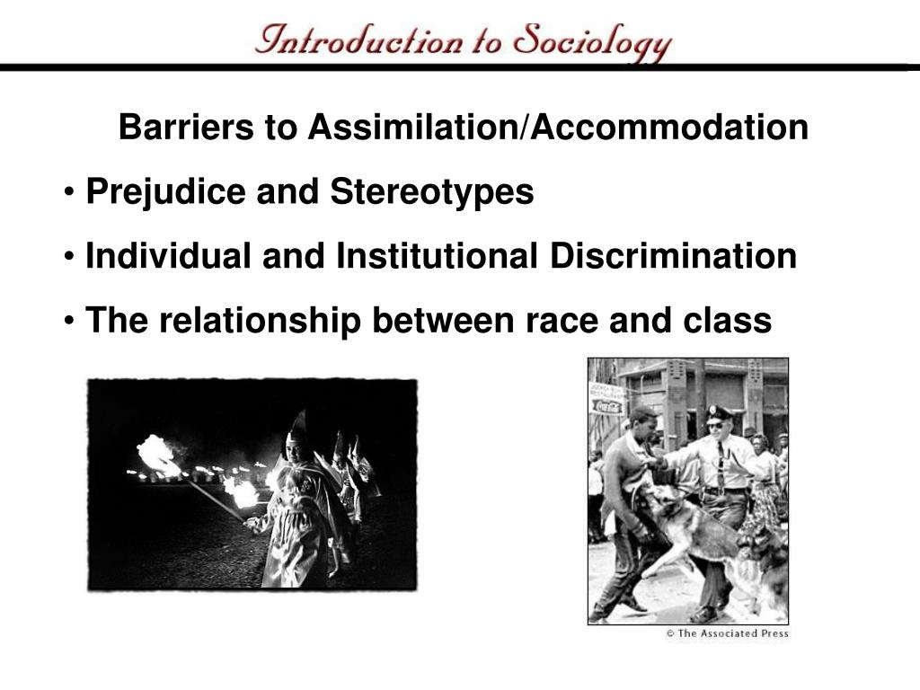Barriers to Assimilation/Accommodation