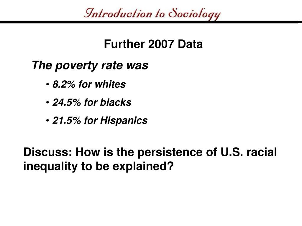 Further 2007 Data