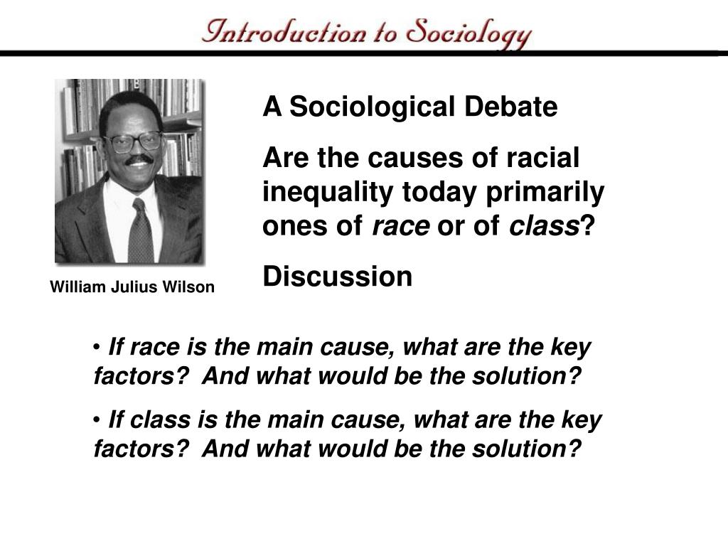 A Sociological Debate