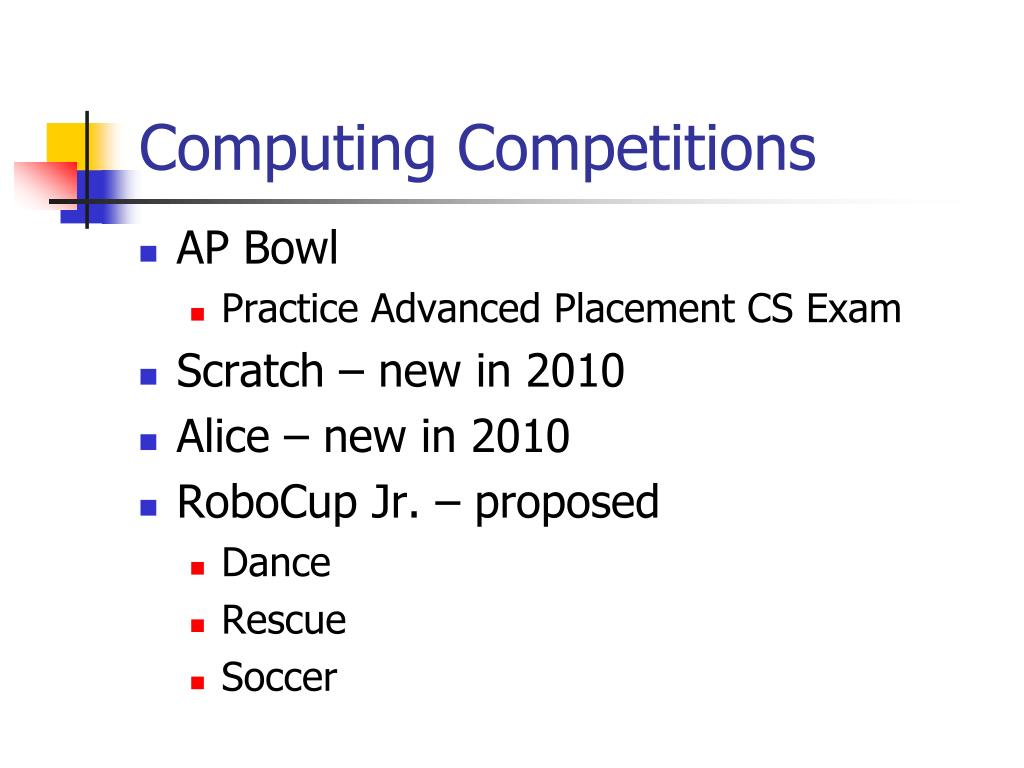 Computing Competitions
